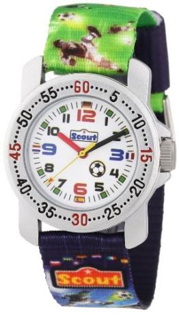 Scout Jungen-Armbanduhr Analog Quarz Textil 280376026 - 1