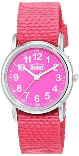 Scout Mädchen-Armbanduhr Analog Quarz Textil 280304001 - 1