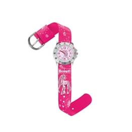 Scout Mdchen Analog Quarz Uhr mit Textil Armband 280378007 - 1
