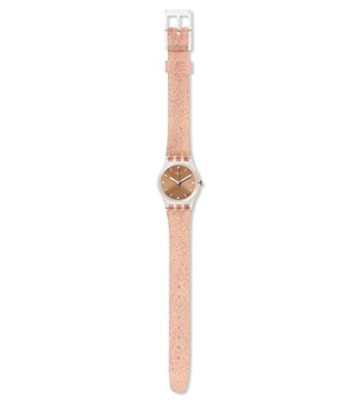 Swatch Damen Analog Quarz Uhr mit Silikon Armband LK354D - 2