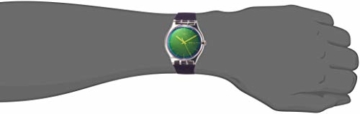 Swatch Damen Analog Quarz Uhr mit Silikon Armband SUOK712 - 2