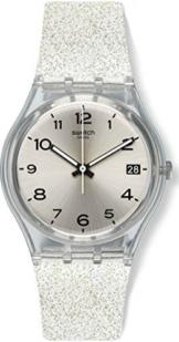 Swatch Damen Digital Quarz Uhr mit Silikon Armband GM416C - 1