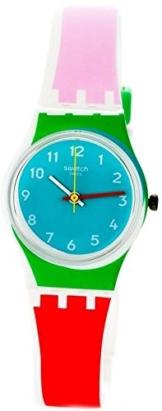 Swatch Damen Digital Quarz Uhr mit Silikon Armband LW146 - 1