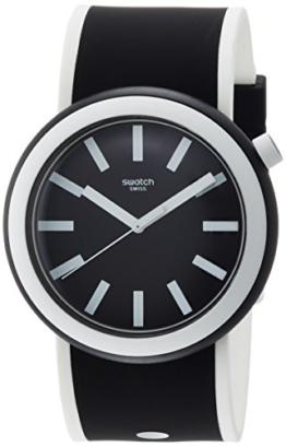 Swatch Damen Digital Quarz Uhr mit Silikon Armband PNB100 - 1