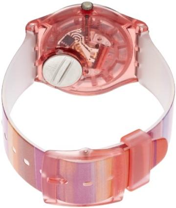 Swatch Damenuhr Analog Quarz mit Plastikarmband - GP140 - 2
