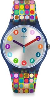 Swatch Damenuhr Digital Quarz mit Silikonarmband - SUON122 - 1