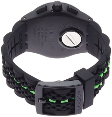 Swatch Herren Digital Quarz Uhr mit Silikon Armband SUSB409 - 2