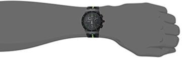 Swatch Herren Digital Quarz Uhr mit Silikon Armband SUSB409 - 4