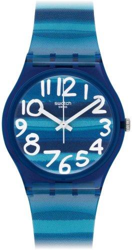 Swatch Unisex-Uhr Analog Quarz mit Plastikarmband - GN237 - 1