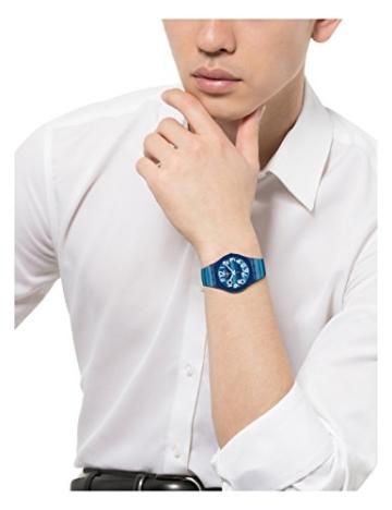 Swatch Unisex-Uhr Analog Quarz mit Plastikarmband - GN237 - 2