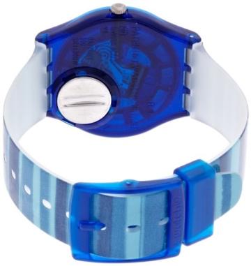 Swatch Unisex-Uhr Analog Quarz mit Plastikarmband - GN237 - 4