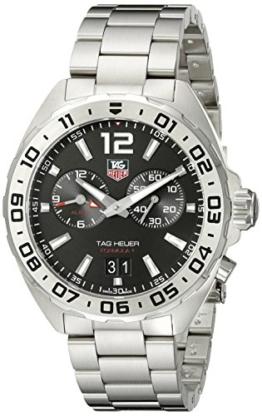 TAG Heuer Herren-Armbanduhr Armband Edelstahl Schweizer Quarz WAZ111A.BA0875 - 1