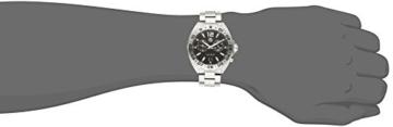 TAG Heuer Herren-Armbanduhr Armband Edelstahl Schweizer Quarz WAZ111A.BA0875 - 2