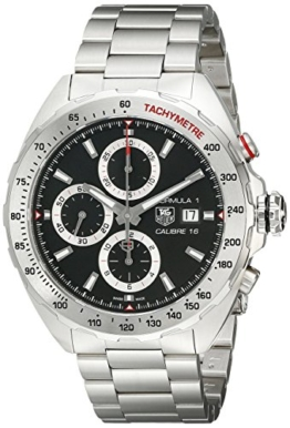 TAG Heuer Herren-Armbanduhr Chronograph Automatik Edelstahl CAZ2010.BA0876 - 1