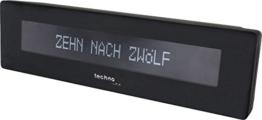 Technoline Digitale Uhr WT 435 mit Uhrzeitanzeige in Worten - 1