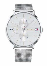 Tommy Hilfiger Damen Multi Zifferblatt Quarz Uhr mit Edelstahl Armband 1781942 - 1