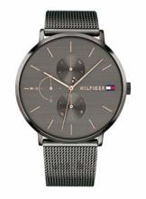 Tommy Hilfiger Damen Multi Zifferblatt Quarz Uhr mit Edelstahl Armband 1781945 - 1
