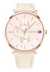 Tommy Hilfiger Damen Multi Zifferblatt Quarz Uhr mit Leder Armband 1781948 - 1