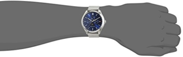 Tommy Hilfiger Herren Analog Quarz Uhr mit Edelstahl Armband 1791302 - 2