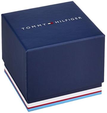 Tommy Hilfiger Herren Analog Quarz Uhr mit Edelstahl beschichtet Armband 1791347 - 3