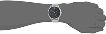 Tommy Hilfiger Herren Multi Zifferblatt Quarz Uhr mit Edelstahl Armband 1791415 - 2