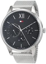 Tommy Hilfiger Herren Multi Zifferblatt Quarz Uhr mit Edelstahl Armband 1791415 - 1