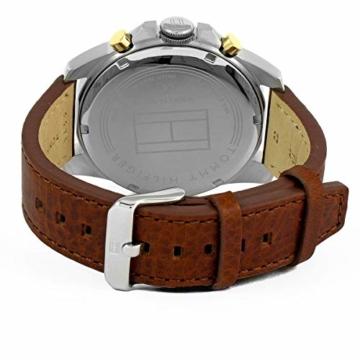 Tommy Hilfiger Herren Multi Zifferblatt Quarz Uhr mit Leder Armband 1791561 - 2