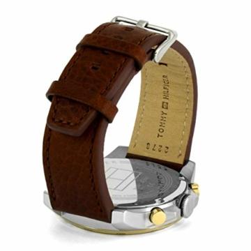 Tommy Hilfiger Herren Multi Zifferblatt Quarz Uhr mit Leder Armband 1791561 - 3