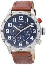 Tommy Hilfiger Watches Herren-Armbanduhr Analog Quarz Leder 1791066 - 1
