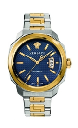 Versace Herren-Armbanduhr Analog Automatik mit Edelstahlband VAG030016 - 1