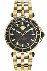Versace Herrenuhr VEAK00618 V-Race goldfarben Edelstahl Datum - 1