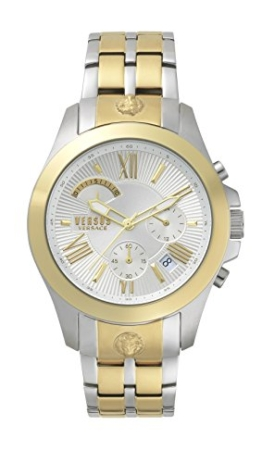 Versus by Versace Herren Analog Quarz Uhr mit Edelstahl Armband VSPBH1418 - 1