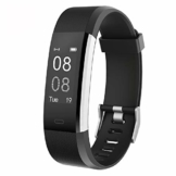 YAMAY Fitness Armband mit Pulsmesser Wasserdicht IP67 Fitness Tracker Smartwatch Aktivitätstracker Pulsuhr Schrittzähler Uhr Sportuhr für Damen Herren Anruf SMS SNS Beachten für iPhone Android Handy - 1