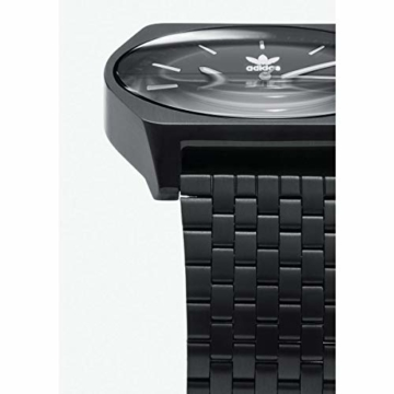 Adidas Herren Analog Quarz Smart Watch Armbanduhr mit Edelstahl Armband Z02-001-00 - 3
