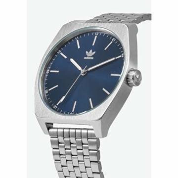 Adidas Herren Analog Quarz Smart Watch Armbanduhr mit Edelstahl Armband Z02-2928-00 - 2
