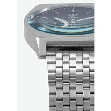 Adidas Herren Analog Quarz Smart Watch Armbanduhr mit Edelstahl Armband Z02-2928-00 - 3