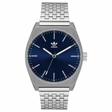 Adidas Herren Analog Quarz Smart Watch Armbanduhr mit Edelstahl Armband Z02-2928-00 - 6