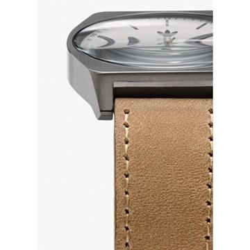 Adidas Herren Analog Quarz Uhr mit Leder Armband Z05-2916-00 - 3