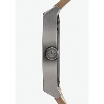Adidas Herren Analog Quarz Uhr mit Leder Armband Z05-2916-00 - 4