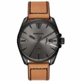 Diesel Herren Analog Quarz Uhr mit Leder Armband DZ1863 - 1