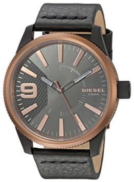 Diesel Herren Quarz Uhr mit Leder Armband DZ1841 - 1