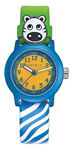 Esprit Jungen Armbanduhr Datum klassisch Quarz Leder ES106414032 - 1