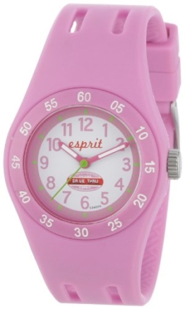 Esprit Mädchen-Armbanduhr Analog Quarz Plastik ES103464006 - 1