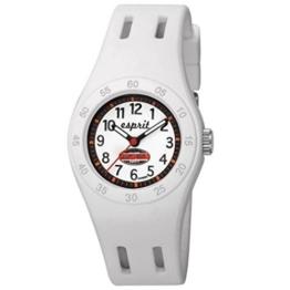 Esprit Mädchen-Armbanduhr Fun Racer Analog Quarz Plastik - 1