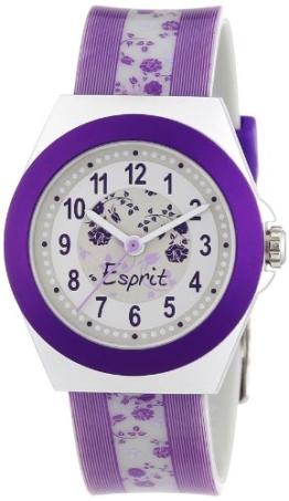 Esprit Mädchen-Armbanduhr Rosy Analog Plastik A.ES105314003 - 1