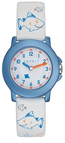 Esprit Unisex Kinder Analog Quarz Uhr mit Plastik Armband ES103454011 - 1