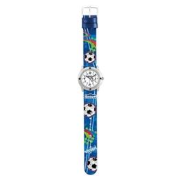 SCOUT Jungen Analog Quarz Uhr mit PU Armband 280393003 - 1
