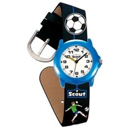 Scout Jungen-Armbanduhr Analog Quarz Kunstleder 280305000 - 1