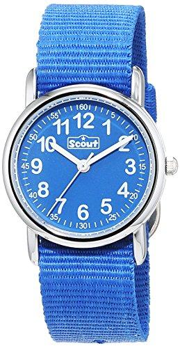 Scout Jungen-Armbanduhr Analog Quarz Textil 280304000 - 1