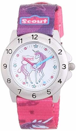 SCOUT Mädchen-Armbanduhr 280378008,Mehrfarbig - 1
